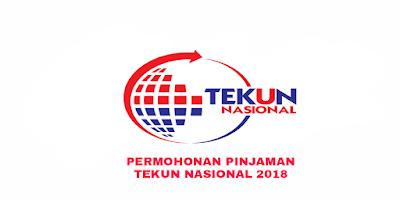 Permohonan Pinjaman TEKUN Nasional 2018