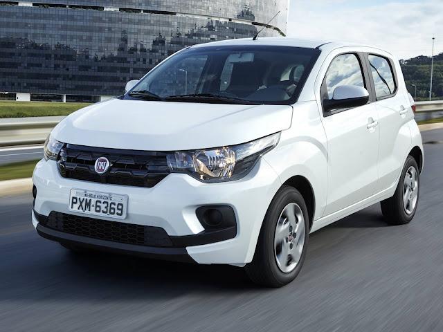 Novo Fiat Mobi Like 2017 - Branco
