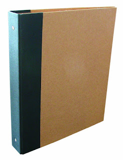 100% recycled binder