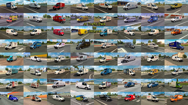 ets 2 ai traffic pack v9.2 by jazzycat screenshots 4