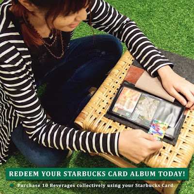 Free Limited Edition Starbucks Card Album