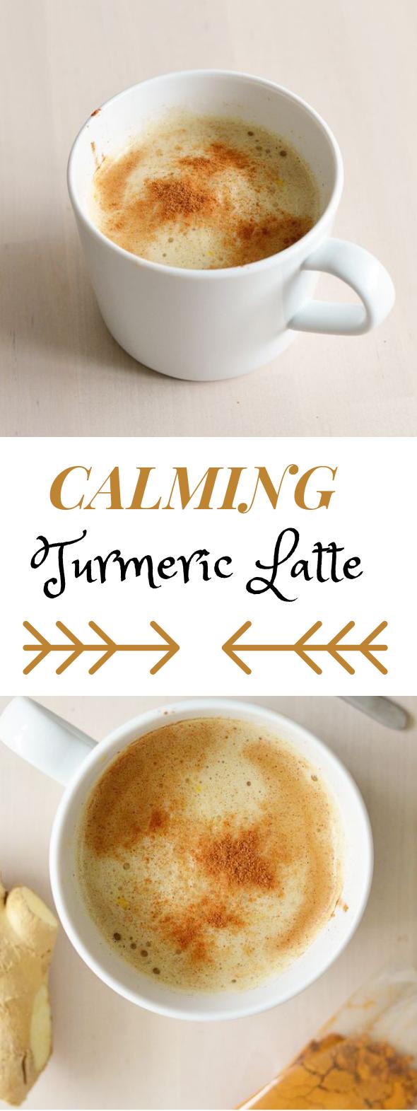 Turmeric Latte #drink #latte