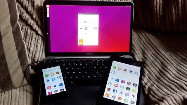 Ubuntu e a convergência total demonstrada em uma imagem!