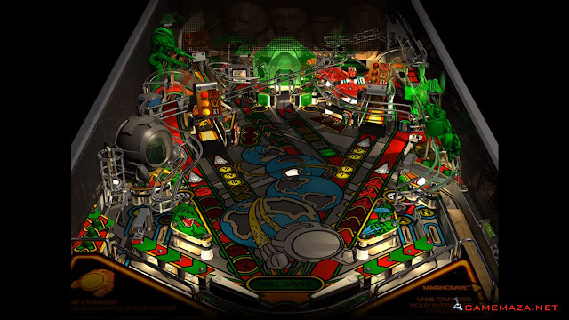 Pro Pinball Timeshock Gameplay Screenshot 1