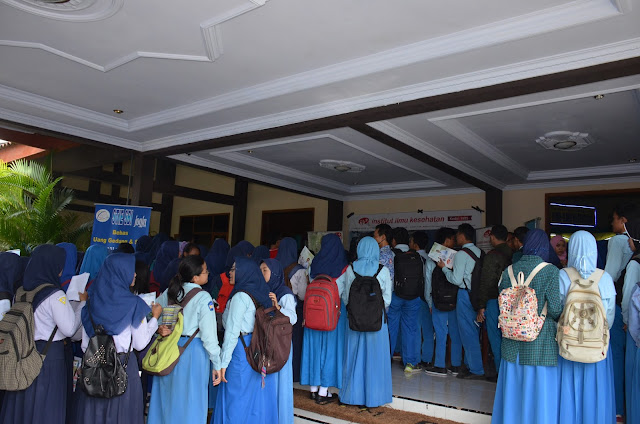 Education Fair Trenggalek 2018 Diserbu Calon Mahasiswa