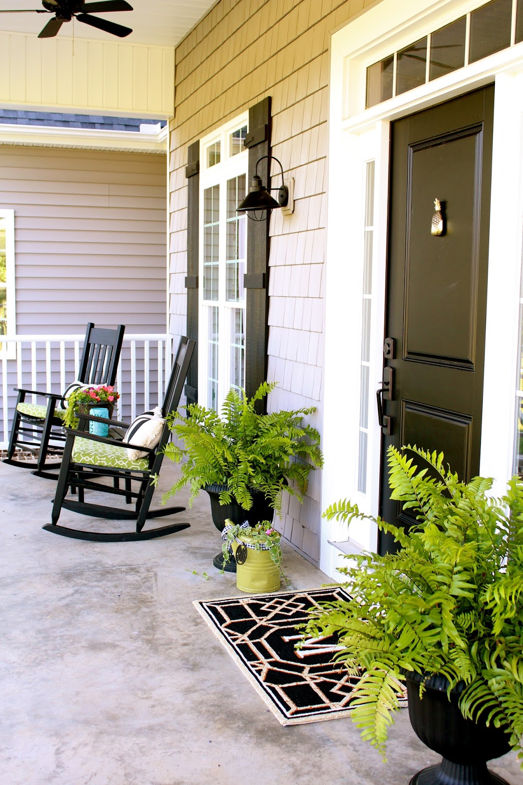 Sandi Mcclain The Sweet Life Spring Front Porch