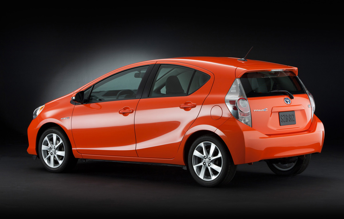 toyota prius c preview 2012 car report daily. Black Bedroom Furniture Sets. Home Design Ideas
