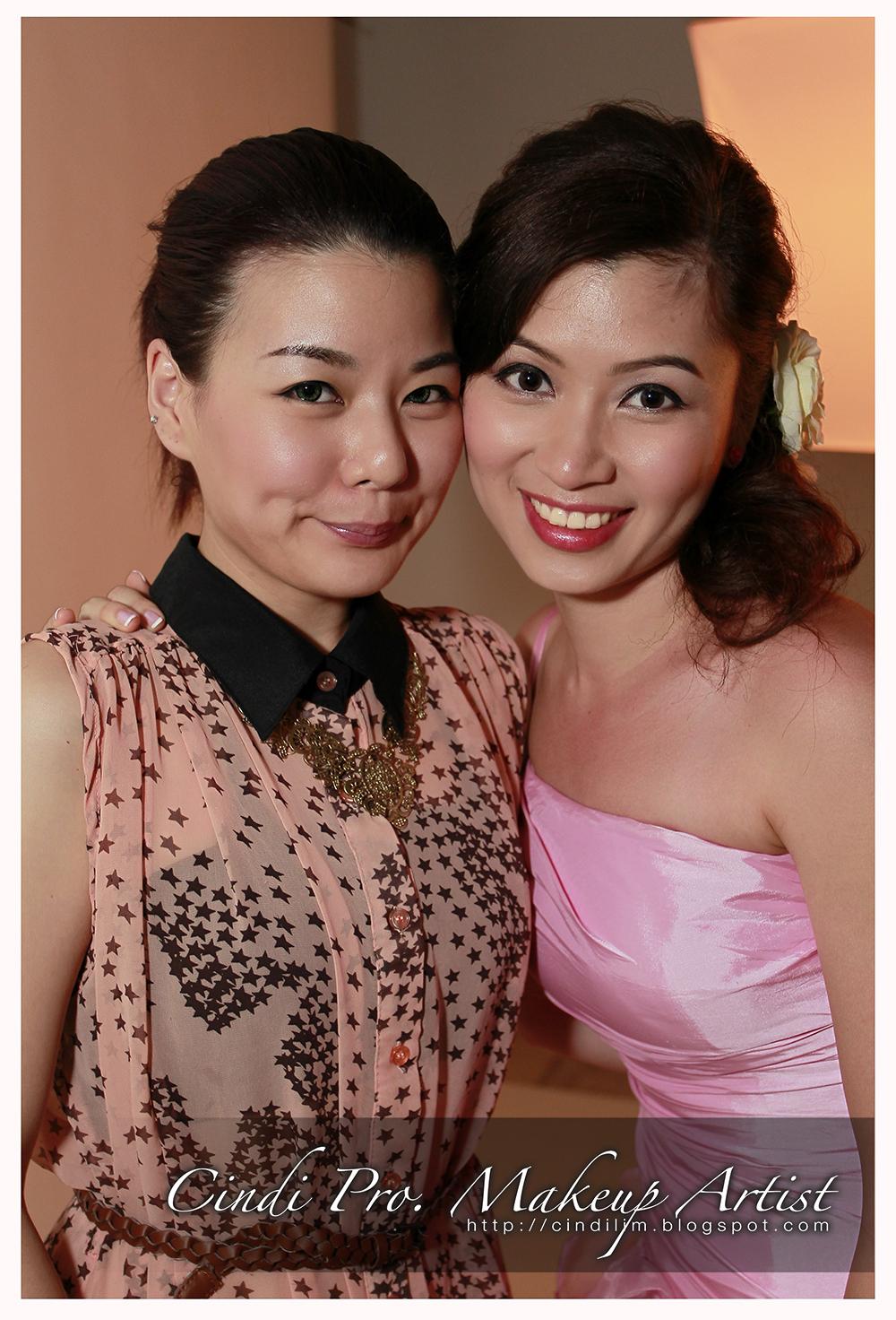 Cindi Pro Makeup Artist Commercial Photoshoot Makeup: :: Cindi Pro. Makeup Artist ::: Pre-wedding Miss Khaw S.L
