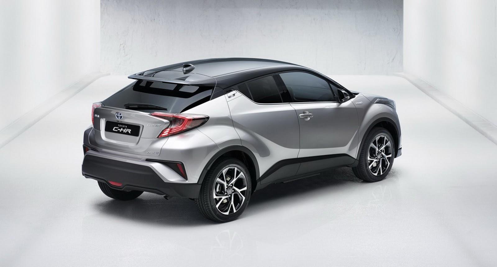 New Toyota C-HR Gets 1.2L Turbo, 2.0L And 1.8L Hybrid ...