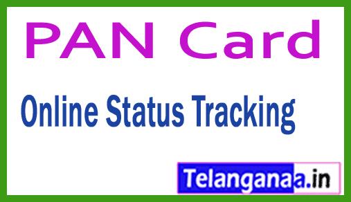 PAN Card Status Tracking Pancard Online Status