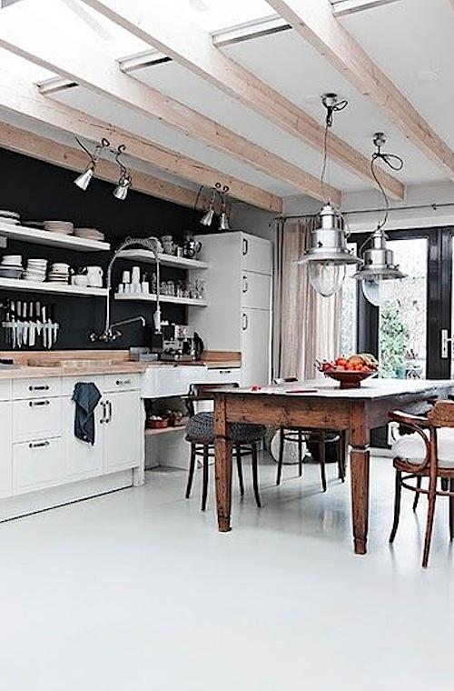 30 stylish modern industrial kitchen interior designs
