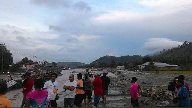 Tragedi Kemanusiaan, 50 Orang Tewas akibat Banjir Bandang di Jayapura
