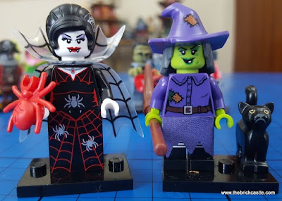 Spider Woman Wacky Witch LEGO minifigs