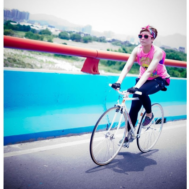 FIXED GEAR GIRL TAIWAN: FGGT 台北→大溪 挑戰90K