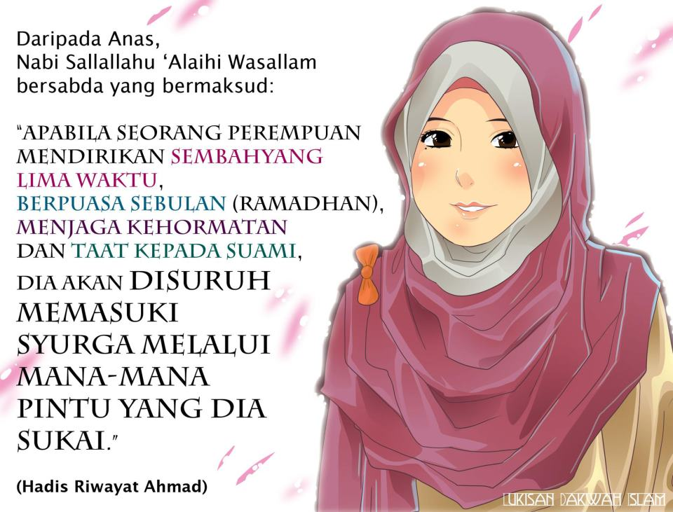 Gambar Kartun Islami Casanba Nasehat Muslimah