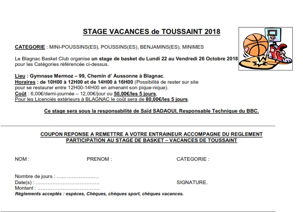 blagnac basket club