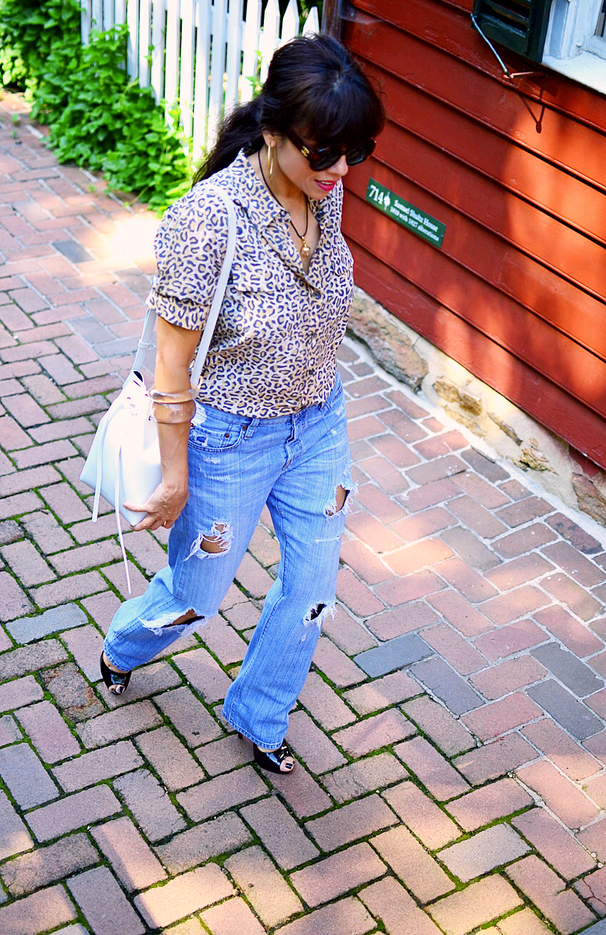 Outfit with vintage Levi's jeans
