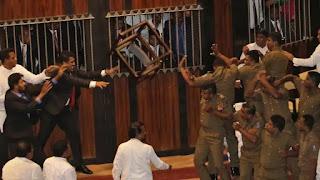 சபாநாயகரின் அனுமதிக்காக காத்திருக்கும் பொலிஸ் -MPகளுக்கு ஆப்பூ