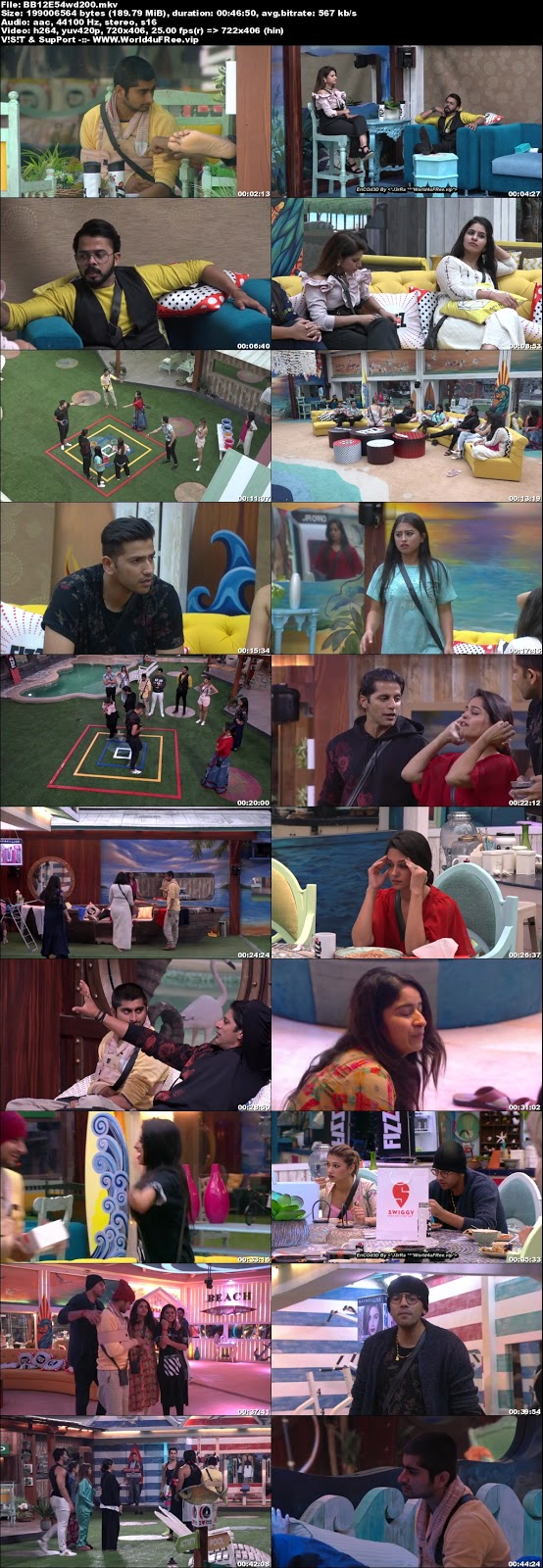 Bigg Boss 12 Episode 54 09 November 2018 WEBRip 480p 200Mb x264 world4ufree.vip tv show Episode 54 09 November 2018 world4ufree.vip 200mb 250mb 300mb compressed small size free download or watch online at world4ufree.vip