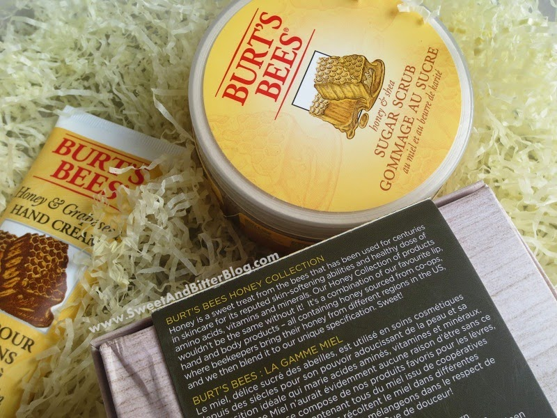 Burt's Bees Honey Collection GIFT BOX Review