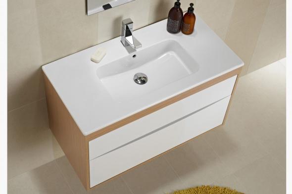 Decoraci n f cil como elegir el mueble de ba o ideal - Altura mueble bano ...