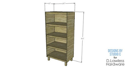 book case plans - D. Lawless Hardware - 34