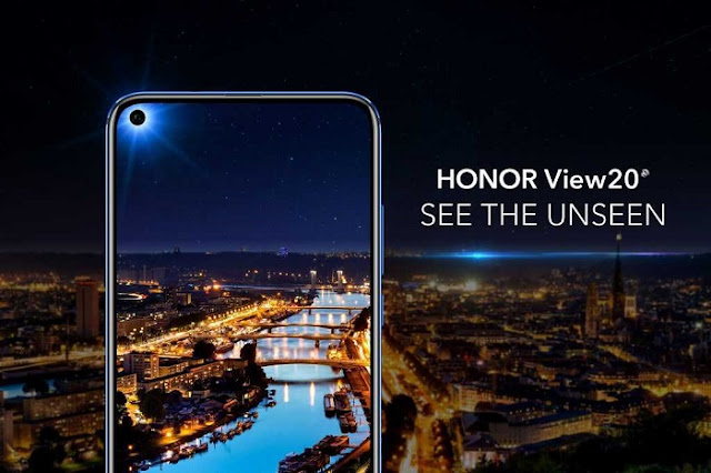 Honor View 20-The Hole-Punch Camera Smartphone