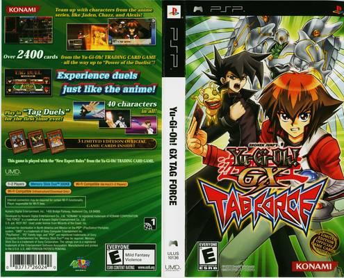 Descargar Yu Gi Oh Gx Tag Force PSP Mega Español