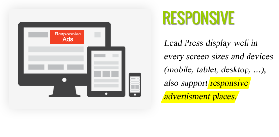 Responsive Ads Design - Maginess – Flexible Magazine WordPress Theme