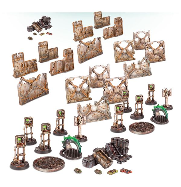 Games Workshop: New Necromunda Bulkheads and Barricades Pre-Order