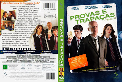 Filme Provas e Trapaças (Assassination of a High School President) DVD Capa