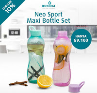 Dusdusan Neo Sports Maxi Bottle Set ANDHIMIND