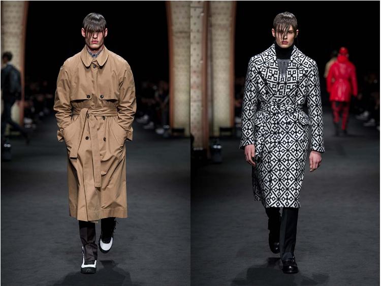 Versace_Men_FW17_ fall-winter-2017 (24)-patterned-coat-winterwear-hairstyle