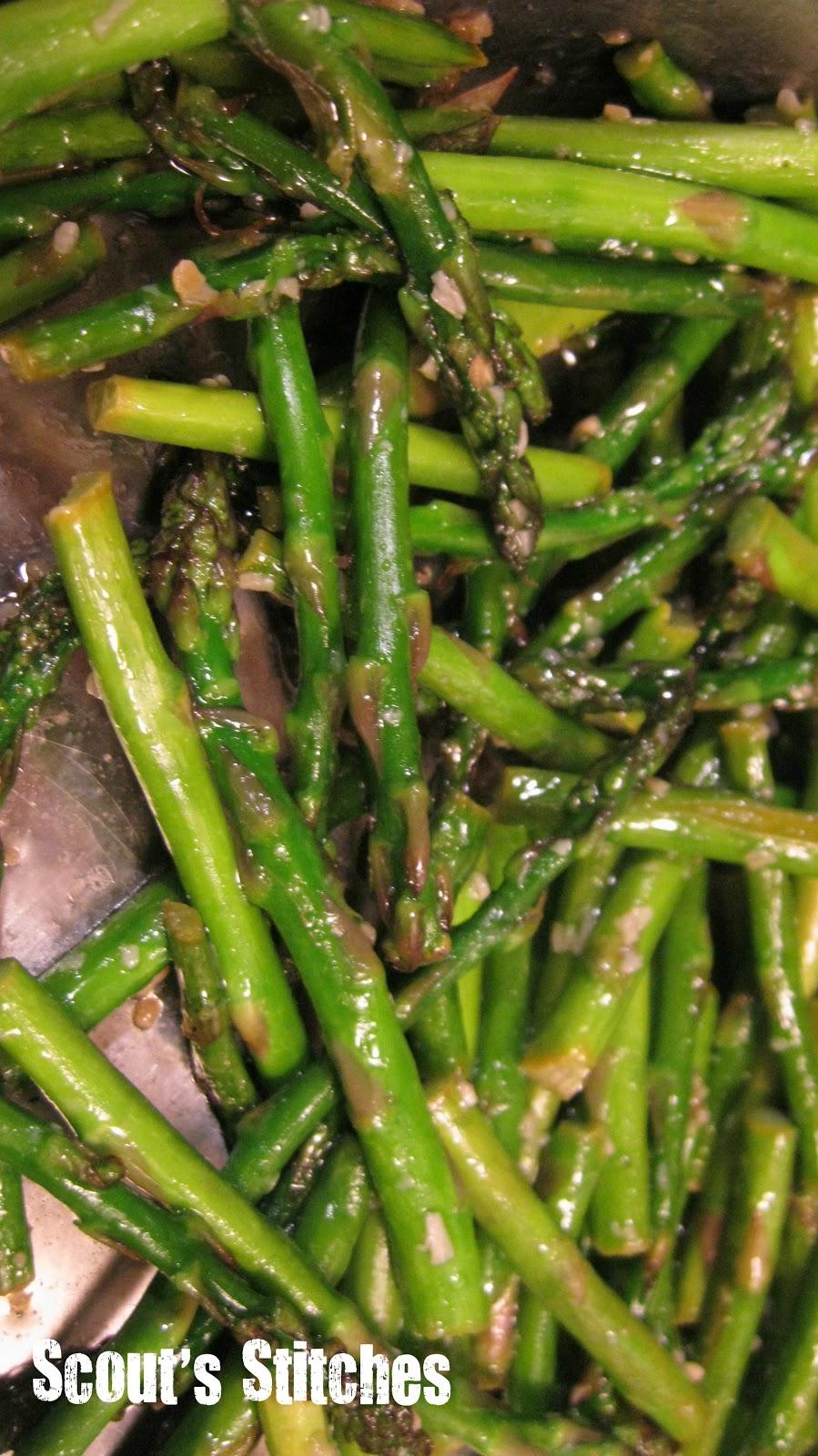 All The Joy: Fresh Asparagus Recipe