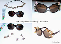 themorasmoothie, fashion, fashionblog, fashionblogger, diy, diyblogger, fashion diy, tutorial, craft, tutorial occhiali, tutorial sunglasses, diy dsquared2, dsquared2, diycraft, diyproject, occhiali da sole fashion, fashion sunglasses, italianblogger, blogger, swarovski