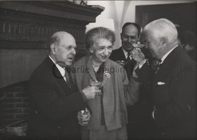 Пабло Казальс, Клара Хаскиль и Чарльз Чаплин
