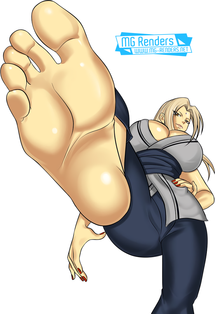Tags: Anime, Render,  Feet,  Huge Breasts,  Naruto,  Pov Feet,  Toes,  Tsunade, PNG, Image, Picture