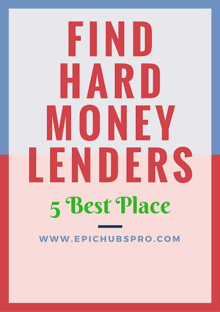 Looking for a hard money lender or loan? Where can you find good hard money lender to work with?
