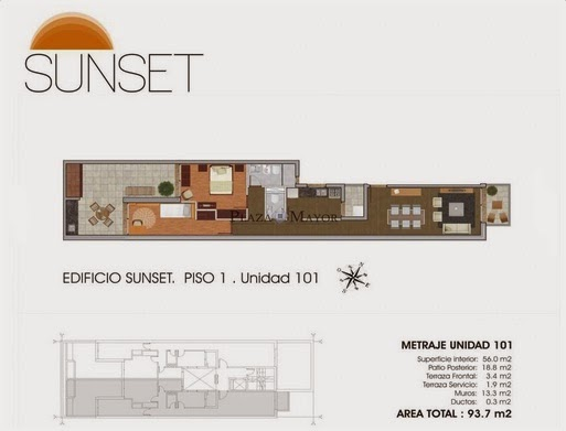 Planos Edificio Sunset
