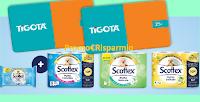Logo Concorso ''Vinci con Scottex'' 300 Gift Card Tigotà da 25€