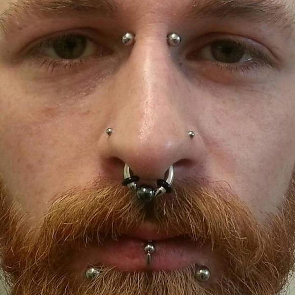Eyebrow Piercing Ideas For Men