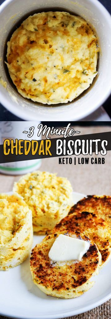 3 Minute Low Carb Biscuits