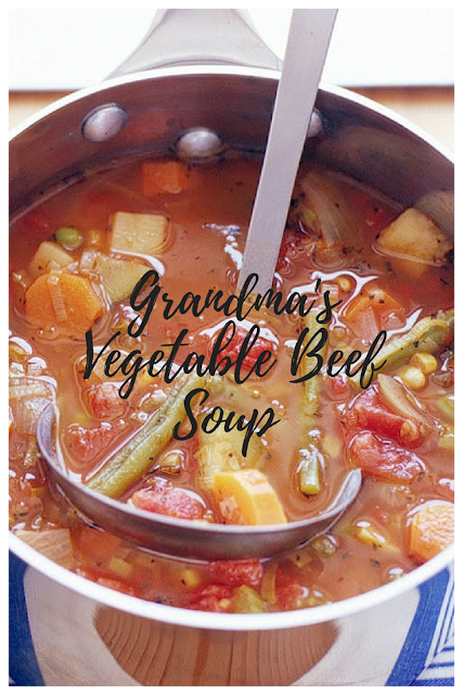 Grandma's Vegetable Beef Soup