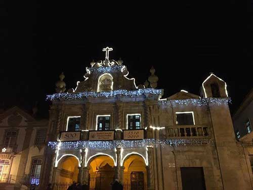 Igreja da Misericórdia de Chaves, Portugal.