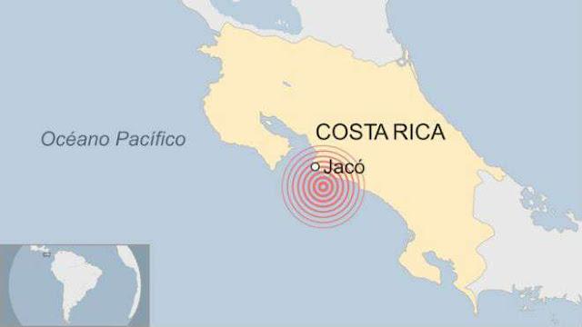 Costa Rica registra tres fuertes sismos de hasta 6.4 en menos de 10 minutos