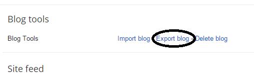 How To Make Full Backup Of Your Blogger Blog