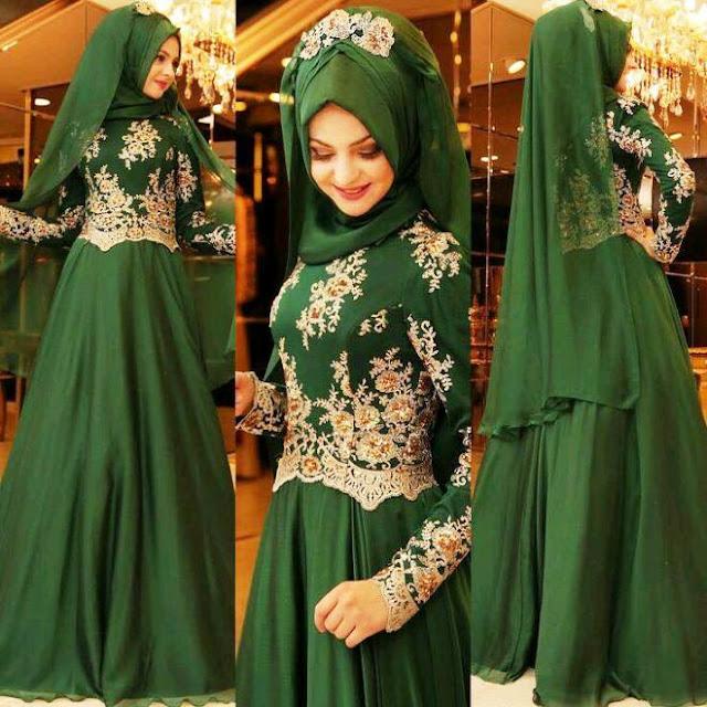 Inspirasi Gaun Muslimah Cantik dan Trendy 2001625