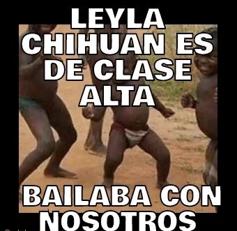 Leyla Chihuan es de
