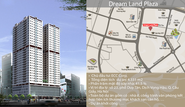 Dự án chung cư Dream Land Plaza