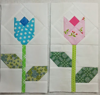 Quilt Inspiration: Free Pattern Day: Easter and Spring Quilts ! : tulip quilts - Adamdwight.com